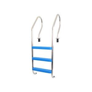 escaleras para piletas de fibra de vidrio